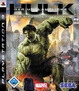 Hulk PS3 DE cover