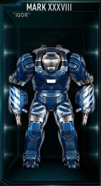 IM Armor Mark XXXVIII