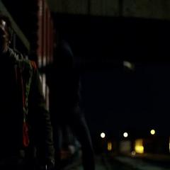 Murdock operando como justiciero por primera vez.