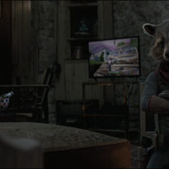 Rocket convence a Thor de acompañarlos.
