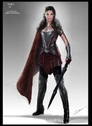 Thor The Dark World 2013 concept art 10