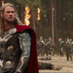 Thor luego de vencer al Kronano.