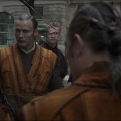 Kaecilius y sus seguidores atrapados por Ancestral.