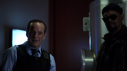 Phil Coulson & Nick Fury
