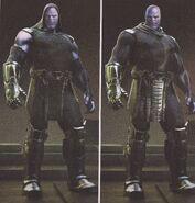 Avengers Infinity War Thanos concept art 11