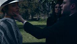 Fitz confronting Agnes