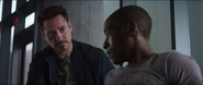 Tony Stark and James Rhodes - Civil War