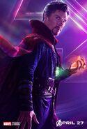 Avengers Infinity War Doctor Strange Poster