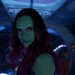Gamora deja a Nebula esposada en la Milano.