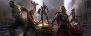 The Avengers 2012 concept art 11