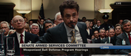 Tony Stark (Senate Hearing)