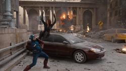 Cap boosts Black Widow