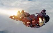 Iron Man Mark III in Flight