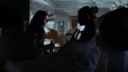 Jessica and Trish talking