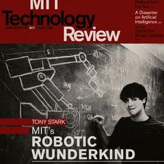 Stark durante su tiempo estudiando en el MIT.