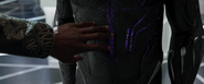 T'Challa Observes New Suit