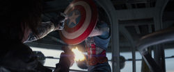 Winter Soldier shooting Captain America