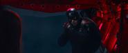 Cap's stealth suit
