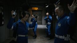 Coulson and May are taken into custody