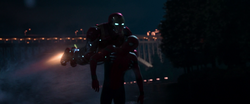 Iron Man saves Spider-Man (Homecoming)