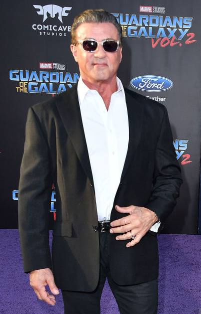 Sylvester Stallone Pituus