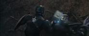 Cap hits Thanos