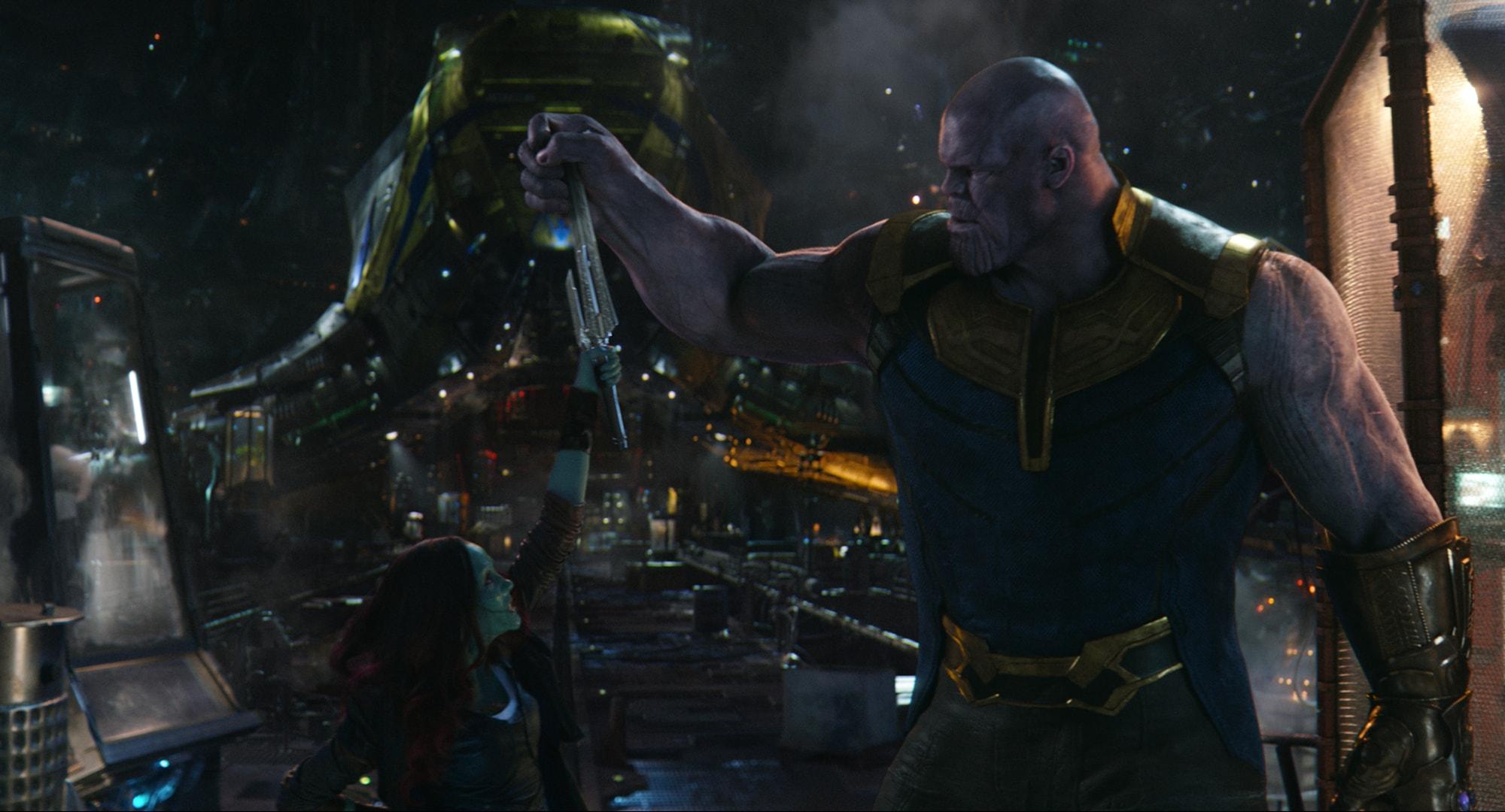 Gamora as Thanos Good Girls Go Bad series fantasy pin Glitch Pins LE 35