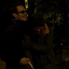 Murdock riendo con Nelson.