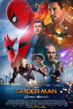 Spider-Man Homecoming - Poster INT 2