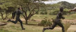 Steve Rogers & T'Challa (Super Speed)