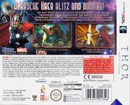 Thor 3DS DE Cover Back