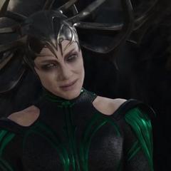 Hela le pide a Skurge que mate a una Asgardiana.