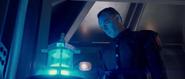Schmidt watches the Tesseract