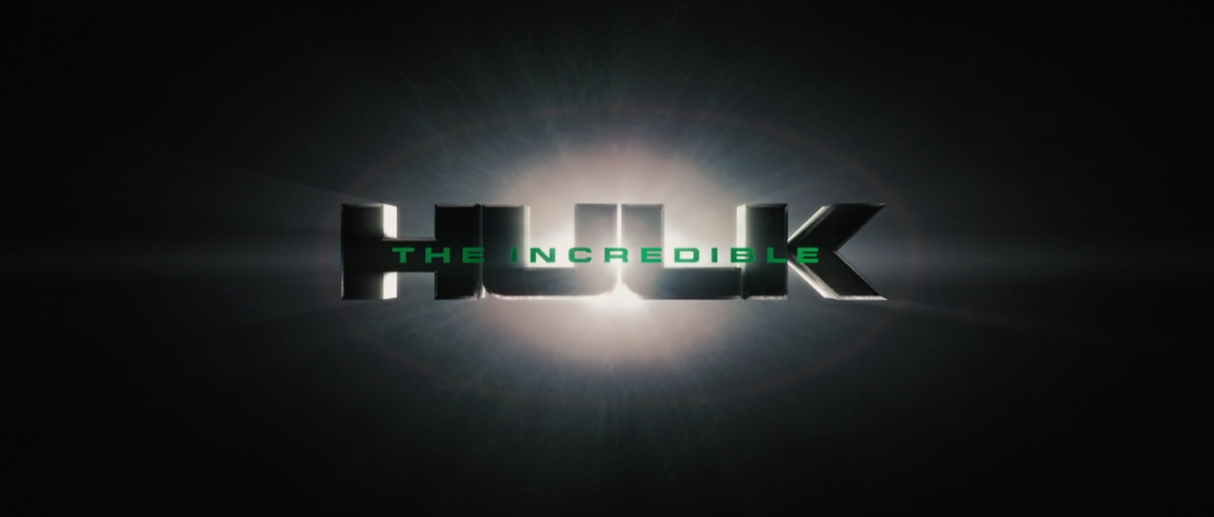 image - the incredible hulk title card (2008) | marvel