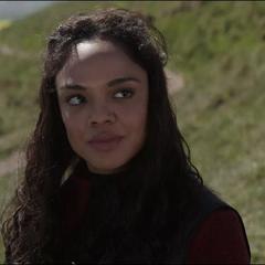 Brunnhilde es elegida como Reina de Asgard por Thor.