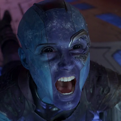 Nebula durante el ataque de la flota Soberana.