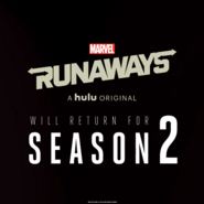 Runaways Season 2 Announcement