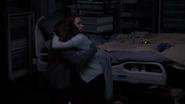 Skye hugs Fitz