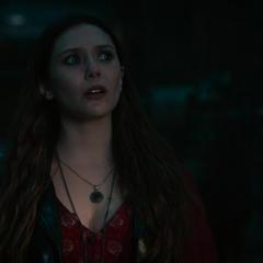 Wanda tras haberse aliado con Ultrón.