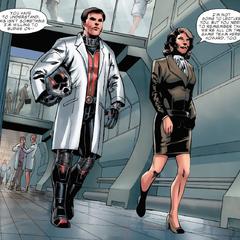 Carter y Pym comienzan a entrenar.