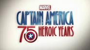 Captain America 75 Heroic Years