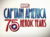 Captain America: 75 Heroic Years