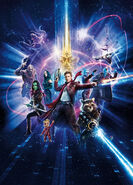 GotG 2 Textless Chinese Poster