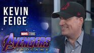 Kevin Feige talks the expansive MCU LIVE at the Avengers Endgame Premiere