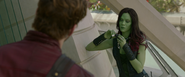 Meeting Gamora