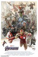 Pablo Rivera Avengers Endgame poster