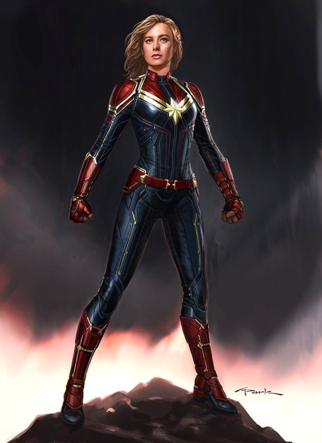 captain marvel dans le mcu
