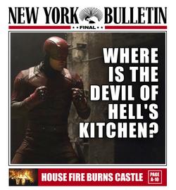 Daredevil Diablo de Hell's Kitche de - NYB