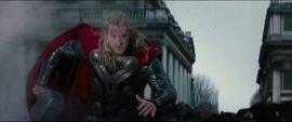 Thor fights in London
