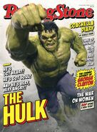 Hulk Rolling Stone cover
